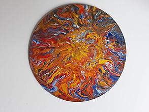 Obrazy - Abstract Planéta R232X, priemer 30 cm - 10576514_