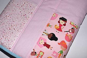 Úžitkový textil - Detská veselá zástena :) - 10577377_