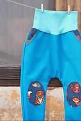 Detské oblečenie - Zvieratkové softshellky - 10578011_