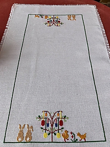 Úžitkový textil - Veľkonočný obrus - 10576063_
