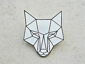 Odznaky/Brošne - vĺčko - 10576673_
