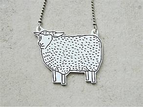 Náhrdelníky - ..som ovca - 10577205_
