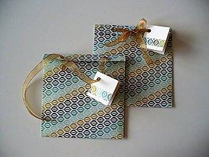 Papiernictvo - obal na CD alebo šperk a iné darčeky - 10576080_