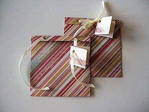 Papiernictvo - obal na CD alebo šperk a iné darčeky - 10576101_