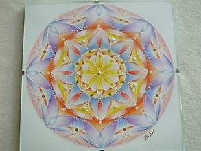 "Obrazy - Mandala ""Dúhovka"" - 10577571_"