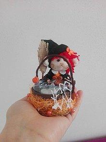 Svietidlá a sviečky - Svetielko malá čarodejnica Elza. - 10577572_