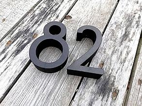 Tabuľky - Popisné číslo: Samostatná číslica Slim (30 cm) - 10576572_