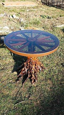 Nábytok - stol z korena - 10575121_