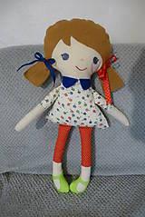 Hračky - textilná bábika - 10576247_