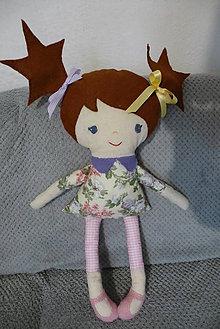 Hračky - textilná bábika - 10575069_