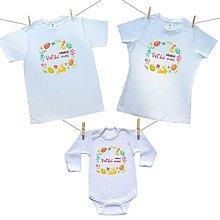 Detské oblečenie - Krásny veľkonočný set pre celú rodinu - 10576726_