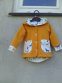 Detské oblečenie - prechodný kabátik č 86 - 10576821_