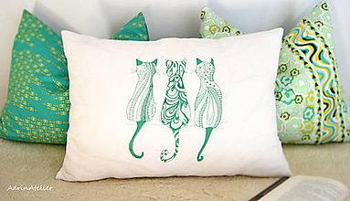 Úžitkový textil - vankúše set - 10577080_