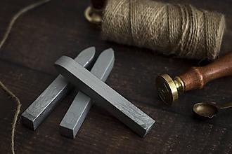 Suroviny - Pečatný vosk - Strieborná ❤ - 10576017_