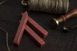 Suroviny - Pečatný vosk - Lososová ❤ - 10576067_
