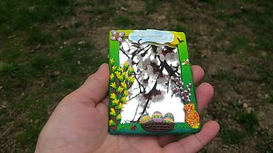 Zrkadielka - Zrkadielko príroda (veľkonočné, č. 2602) - 10576262_