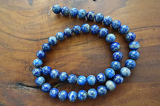 Minerály - Lapis Lazuli AB 8mm - 10576283_