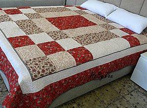 Úžitkový textil - Prehoz na chalupu - 10578524_