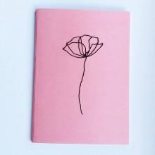 Knihy - Vyšívaný zápisník