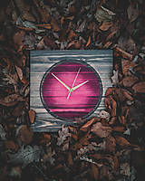 Hodiny - Pinky - Smrekové drevené hodiny - 10578271_
