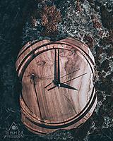 Hodiny - Artefakt 4 - Teakové drevené hodiny - 10578635_