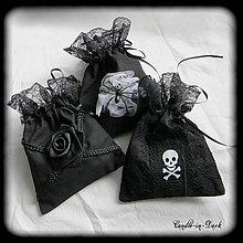 Úžitkový textil - Gotické vrecúška - 10576123_
