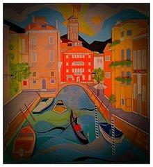 Obrazy - Venice Italy Rio di San Vio - 10577774_