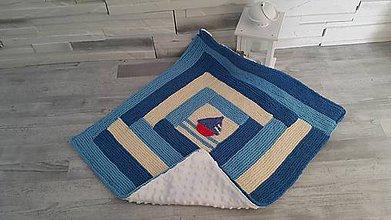 Textil - Novorodenecka deka - 10575529_