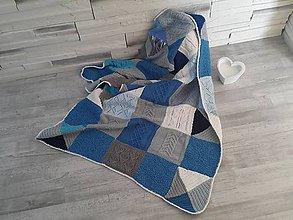 Úžitkový textil - Pathwork deka - 10575550_