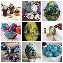 Kurzy - Urobíte si veľkonočnú dekoráciu - zajaca a vajíčka z polystyrénu kombinovanou technikou Paverpol a akrylovými farbami - 10577647_