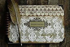 Papiernictvo - Kronika/kniha hostí/kniha hostí/svadobný album/album/svadobná kniha - 10575034_