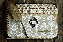 Papiernictvo - Kronika/kniha hostí/kniha hostí/svadobný album/album/svadobná kniha - 10575035_