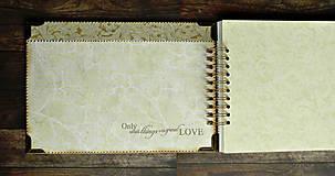 Papiernictvo - Kronika/kniha hostí/kniha hostí/svadobný album/album/svadobná kniha - 10575036_