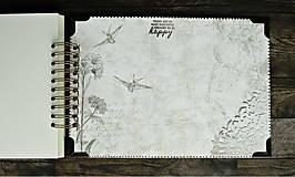 Papiernictvo - Kronika/kniha hostí/kniha hostí/svadobný album/album/svadobná kniha - 10575038_
