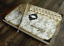 Papiernictvo - Kronika/kniha hostí/kniha hostí/svadobný album/album/svadobná kniha - 10575042_