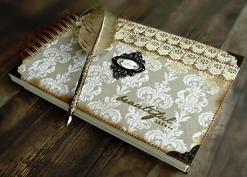 Kronika/kniha hostí/kniha hostí/svadobný album/album/svadobná kniha