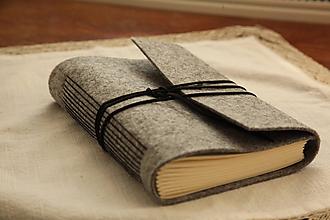Papiernictvo - Black zápisník - A5 - 10576742_