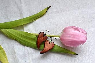 Náušnice - Náušnice - Krása z lipy zrodená - 10577735_