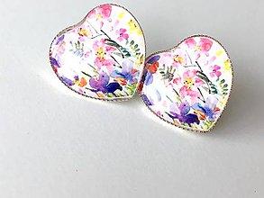 Náušnice - Náušničky rozkvitnutá lúka - 10577322_