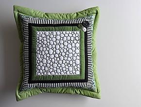 Úžitkový textil - Vankúš - quiltovaný - 10575851_