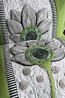 Úžitkový textil - Vankúše - kvet - LIMITED EDITION - 10575908_