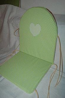 Úžitkový textil - podsedák do stoličky - 10576427_
