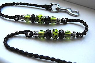 Pre zvieratká - Zelená a čierna - 10575579_