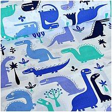 Detské súpravy - Dino in blue - 10579482_