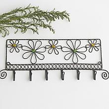 Nábytok - vešiak s kvetmi - 10579028_