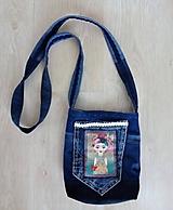Kabelky - Jeansová crossbody kabelka FRIDA - 10579553_