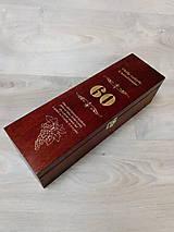 Krabičky - Gravirovana krabica na víno - 10579317_
