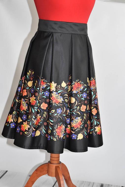 0136f6fe27f4 Saténová sukňa