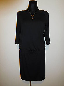 Šaty - Pohodlná elegance - 10581191_