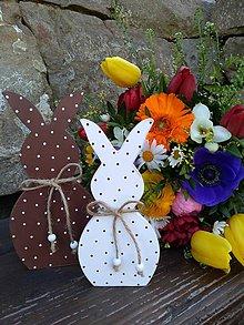 Dekorácie - veľkonočná dekorácia - zajačiky - 10581370_